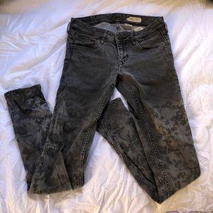 H&M | Printed Skinny Jeans